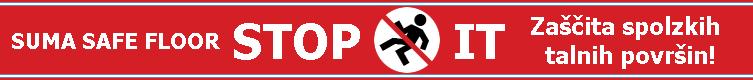 STOP IT - Zaščita spolzkih talnih površin